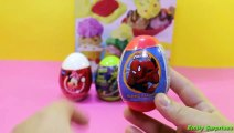 Kinder Surprise Eggs Play Doh Peppa Pig Cars 2 mickey mouse Halloween (Holiday) Opening Dough