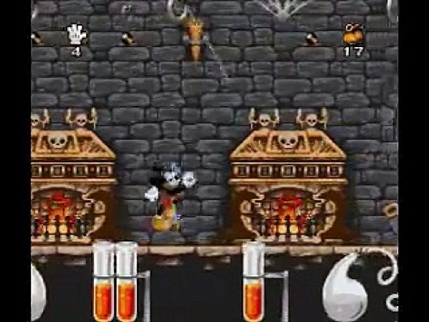 Mickey Mania SNES - Cartoon 2 (The Mad Doctor) (Dubbed With Genesis Music Version 1)