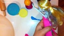 Play Doh Monster High Dresses Up Design ❤ Lagoona Blue Doll #2 [Oyun Hamuru Kıyafet Tasarımı]