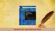 Download  Models for Quantifying Risk Ebook Free