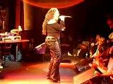Lisa Lisa on stage
