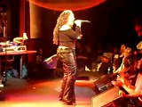Lisa Lisa on stage