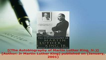 Download  The Autobiography of Martin Luther King Jr Author Jr Martin Luther King published Read Online
