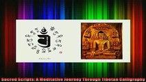 Read  Sacred Scripts A Meditative Journey Through Tibetan Calligraphy  Full EBook