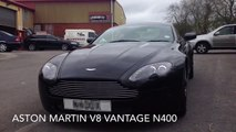 Aston Martin V8 vantage Vantage N400, crazy acceleration