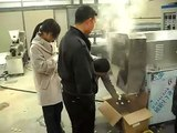 puffed snacks food processing line/expanded snacks food extruder/corn snacks food making machine.AVI