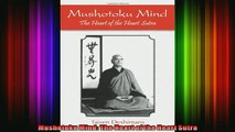 Read  Mushotoku Mind The Heart of the Heart Sutra  Full EBook