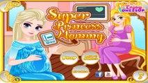 Permainan/Games Elsa Frozen Dan Putri Rapunzel Hamil/Mengandung/Melahirkan Super Princess