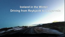 Iceland Winter Time Lapse