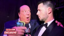 Paul Heyman rejoices after Lesnar s win over Ambrose  WrestleMania 32 Exclusive, April 3, 2016