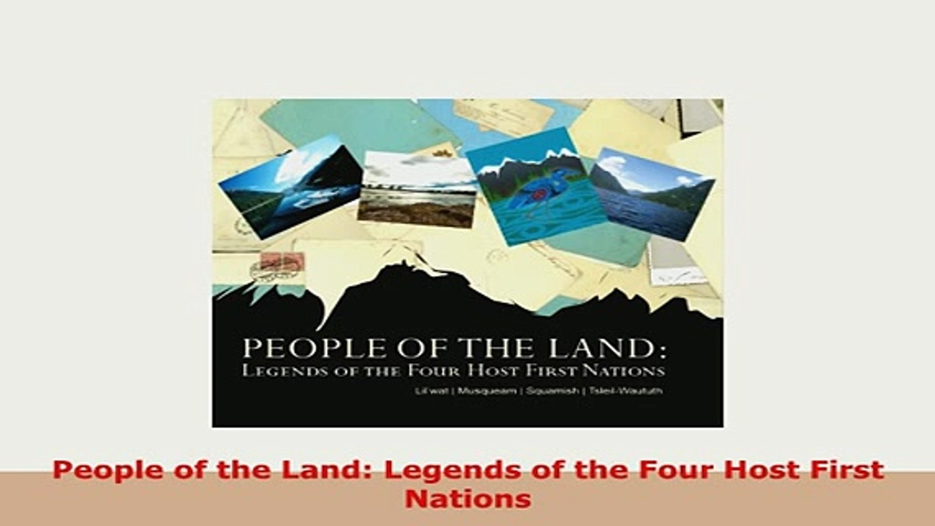Legends of the Four Host First Nations People of the Land