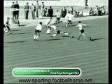 Sporting - 4 x Guimaraes - 0, 1962/1963 Final Taça de Portugal