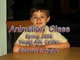 Ryan's first animation class