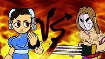 Street Fighter Vs Weird Fighting Styles (Street Fighter V Cartoon Animation)