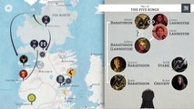 """Game of Thrones"" : the five seasons summarized in 7 minutes"
