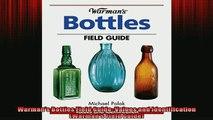 READ book  Warmans Bottles Field Guide Values and Identification Warmans Field Guide READ ONLINE