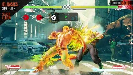 Street Fighter V - Guide officiel pour Alex de Street Fighter V