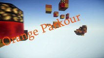 Minecraft Parkour - Orange Parkour by Coorchac