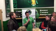 Michael Swift inducted into the Connacht Clan Hall of Fame