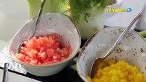 Good Food: Sea Bream Caviche Home-smoked Salmon pastrami