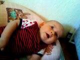 Skratt Bebis 7 månader.