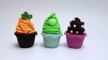 Play Doh Cupcakes Recipe Carrot Cake Apple Pie How to make Playdough Cupcakes Part 8