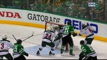 NHL : Antoine Roussel a inscrit un but improbable en playoffs
