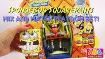 Nickelodeon Spongebob Squarepants Play Doh Mix n Match Set Sponge Bob Toys Playdough