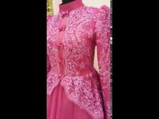 Tesettür Nişanlık İşlemeli Nisa Moda 2016