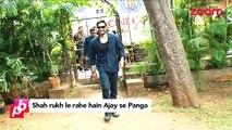 Shah Rukh Khan to clash with Ajay Devgan - Bollywood News