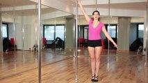 Poledance Training #19 - Kleine Pirouette / Tanzen / Pole Dance und Pole Fitness in Köln