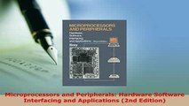 PDF  Microprocessors and Peripherals Hardware Software Interfacing and Applications 2nd  EBook