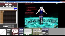 MME)/(MMD)-MikuMikuEffect Test V1/Fire and TV Effect - video