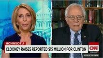 Bernie Sanders vs Clooney. Bernie Sanders responds to George Clooney