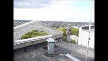 Saut périlleux au dessus du vide, flippant - Roof Jumper