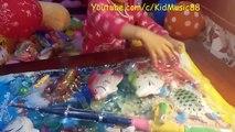 Đồ Chơi Câu Cá Liên khúc nhạc thiếu nhi Cá Vàng Bơi - New Fishing game set of KidMusic88