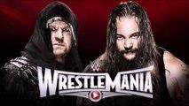 WWE Wrestlemania 31 - The Undertaker VS Bray Wyatt