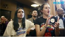Sanders Supporter & Actress Rosario Dawson Arrested at Protest Rally
