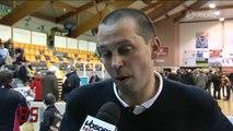 Golbey-Épinal vs Challans (77-76) : Interview de F. Massé