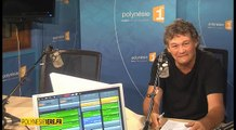 """Fabrice Cicorella de la Bijouterie Black Pearl, partenaire du jeu """"Noël en avril !"""" de Polynésie 1ère radio - Voyage en 1ère - 15 04 2016"""