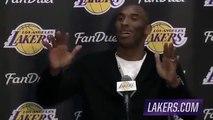 Dwyane Wade Interrupts Kobe Bryant Postgame Interview   Heat vs Lakers   March 30, 2016   NBA