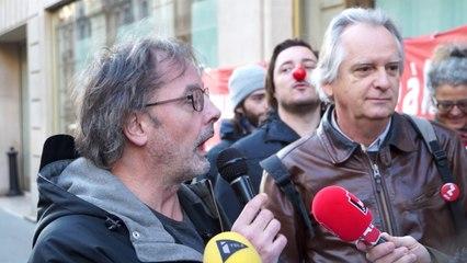 Christophe Alévèque soutient le collectif Attac pour embêter les banquiers et magna de la finances....