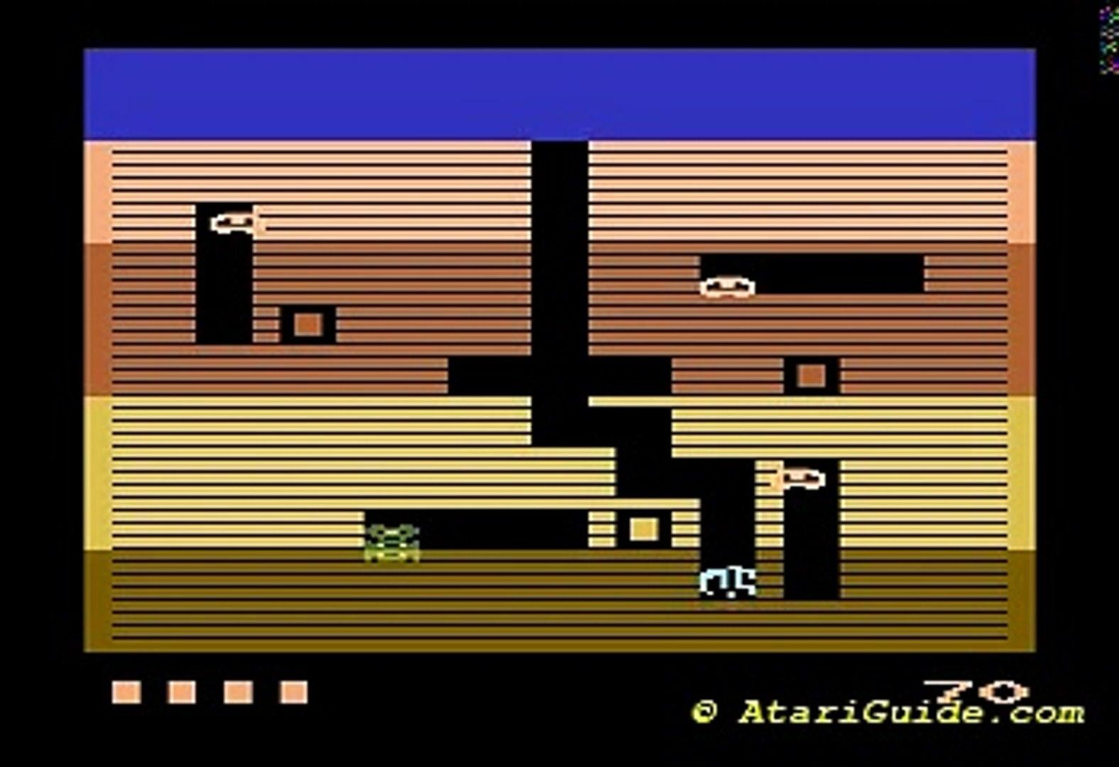 Atari 2600 Dig Dug 1983 Atari - GCC, Doug Macrae CX2677, CX
