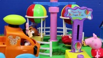 Bubble Guppies ❤ Peppa Pig Mermaid Hospital with The Little Mermaid Ariel Oona Play Doh Food