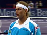 Masters Cup 2006 Federer vs Nalbandian Highlights
