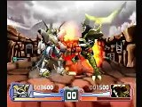 Digimon Rumble Arena PS1 Game - Imperialdramon Paladin Mode Vs. Reapermon