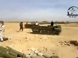 FNN   Syria   Deir Ezzor   Al Bukamal   One of the biggest weapons caches seized by the FSA was taken from the Hamdan Military Airport   17 11 2012