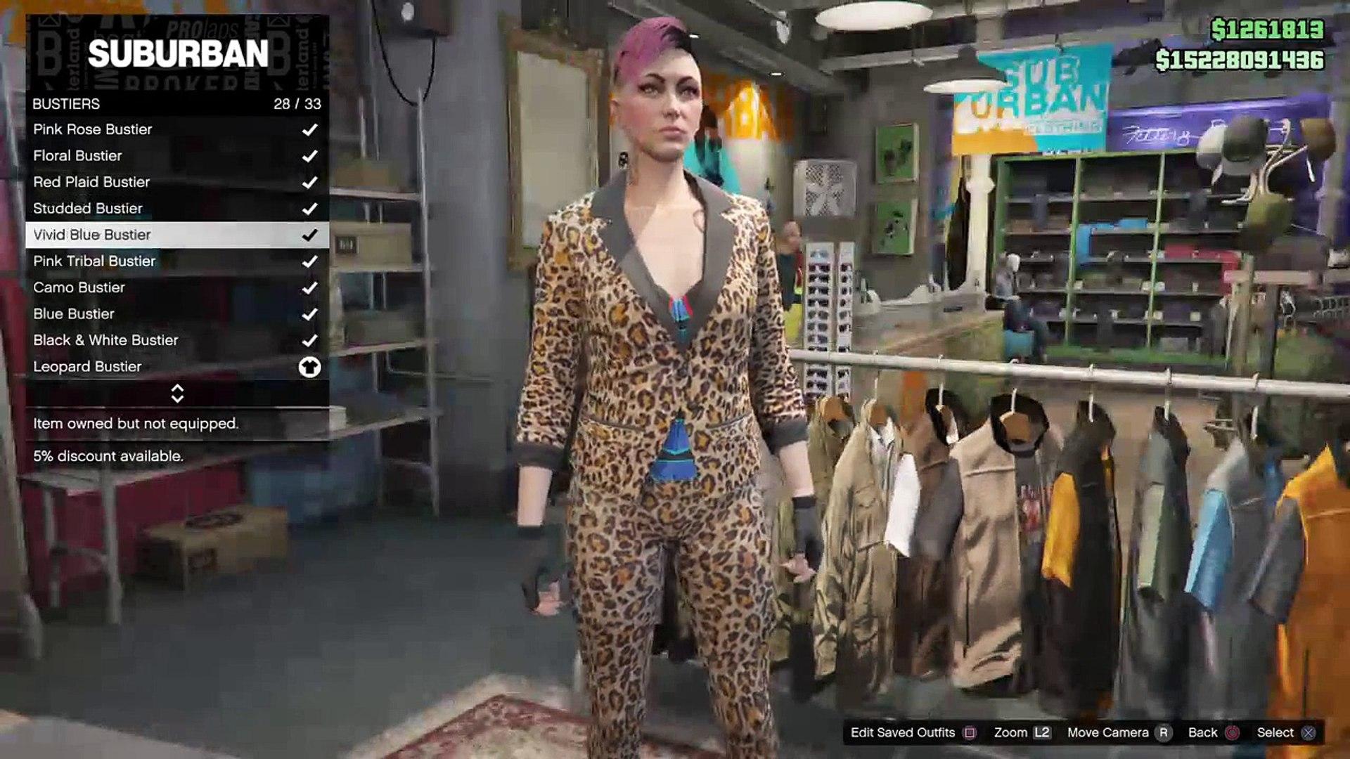 Clothes Glitch (Gta5 Ps4)