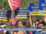 Protesters rally over immigration reform