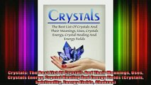 Read  Crystals The Best List Of Crystals And Their Meanings Uses Crystals Energy Crystal  Full EBook